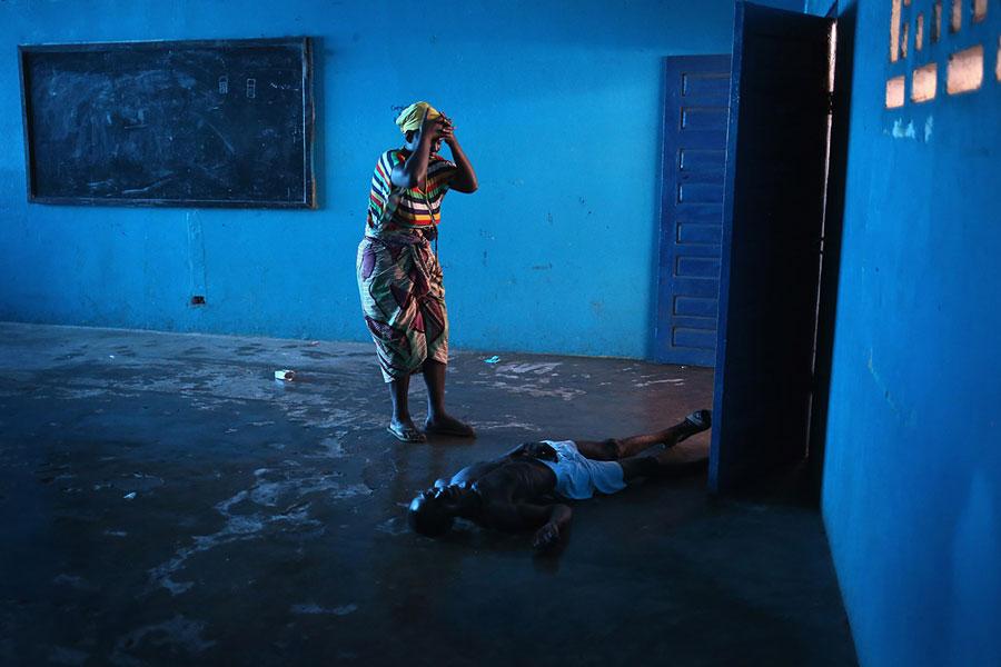 ebola liberia John Moore Getty Images